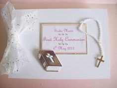 Boxed Personalised First Holy Communion Keepsake Album - Girl or Boy £15.00