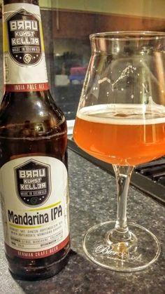 BrauKunstKeller Mandarina IPA. Watch the video beer review here…
