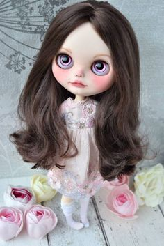 Custom Doll for Adoption  by BlytheAdore Check the weekly dolls for adoption here: http://ift.tt/2lbVttq