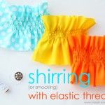 A great idea for the tops of skirts! As always, a very detailed and informative tutorial!
