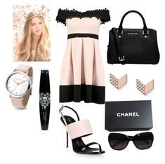 """""""Untitled #44"""" by bosniamode ❤ liked on Polyvore featuring Boohoo, Giuseppe Zanotti, MICHAEL Michael Kors, FOSSIL and Chanel"""