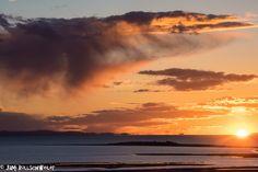 Antelope Island Sunset State Park, utah