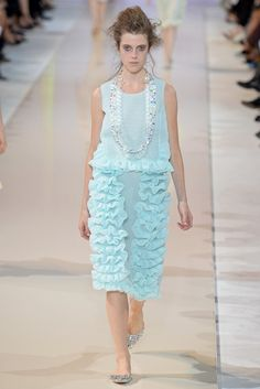 Rochas Spring 2014 Ready-to-Wear Fashion Show - Sojourner Morrell (Marilyn)