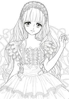 Shoujo Nurie / Coloring Pages