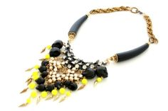 #4 House of Emmanuelle Neon Voodoo Necklace. Because every Christmas wish list needs a splurge item.
