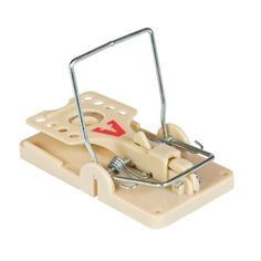 The Victor Power-Kill Mouse Trap is set and released with 1 simple click. The trap is designed with a large trough for easy baiting and the large trip pedal is easily activated both by rodent interest Rat Pest Control, Mice Control, Rat Traps, Mouse Traps, Rodents, Organic Gardening, Home And Garden, Canning, Floor
