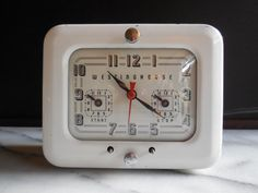 Mid Century Westinghouse Clock Appliance Timer by used2bnewVintage ~ETS #vntageclock #vogueteam #etsygifts