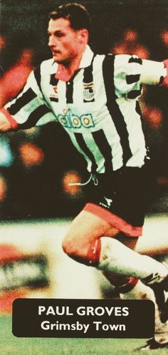 6e1372a96fa Paul Groves of Grimsby Town in 1997.