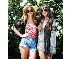 WATCH: Behind the scenes with Zara Martin and Millie Mackintosh at Coachella!!