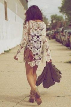 keep on walking crochet style