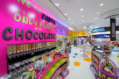 Candylicious in Dubai. The world's largest candy store