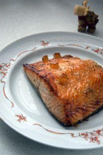 Mandy kertje és konyhája : Lazac, narancsos-gyömbéres mázzal Fish Recipes, Seafood, Toast, Food And Drink, Low Carb, Cooking, Breakfast, Sea Food, Kitchen