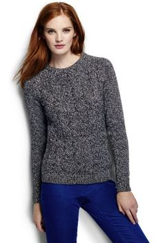 Womens Regular Cashmere Open Crew Neck Jumper - 10 -12 - RED Lands End Outlet Locations 1aNuVu