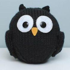 Easy Little Black Owl
