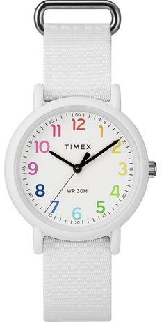 0bf0cc2a049f Timex Weekender TWG018200 Color Rush Nylon Strap Watch Set