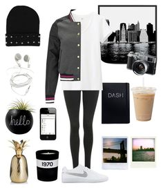 """""""Count your Rainbows"""" by One Girl Nation by genesis129 on Polyvore featuring Mode, Uniqlo, Brave Soul, Topshop, NIKE, Universal Lighting and Decor, Dot & Bo, Bella Freud, M&S and Fuji"""
