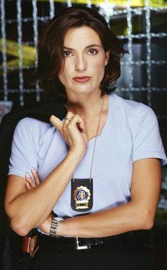 Season 1 from Mariska Hargitay's Law and Order: SVU Hair Through the Years  Baby…