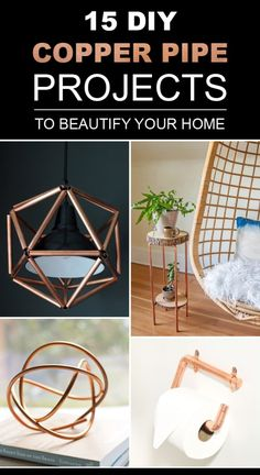 15 Awesome DIY Copper Pipe Projects To Beautify Your Home