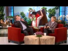 A Compilation of Ellen Degeneres Hilariously Scaring Her Guests For the Month Before Halloween [VIDEO] - http://blog.dashburst.com/video/ellen-degeneres-scares-guests/