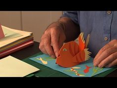 Pop-Up Tutorial 13 - Curved Shapes - YouTube