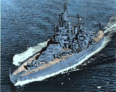 """USS Maryland also known as """"Old Mary"""" or """"Fighting Mary"""" to her crewmates, was a Colorado-class battleship. Uss Maryland, Model Warships, Us Battleships, Uss Arizona, Capital Ship, Naval History, Ww2 History, Us Navy Ships, Pearl Harbor Attack"""