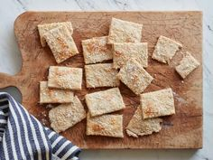 Get Trisha Yearwood's Homemade Herbed Crackers Recipe from Food Network