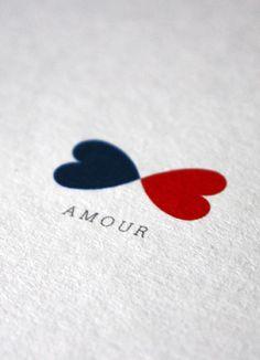 Papier Tigre Amour carte postale du kit saint valentin