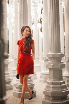 Little Red Dress ..