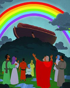 God Made a Promise to Noah