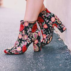 I like shoes and boots as a statement piece for a tame outfit