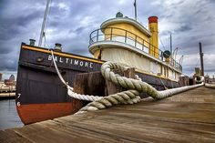 The S.S. Baltimore Tugboat