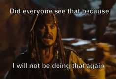 Captain Jack Sparrow!!