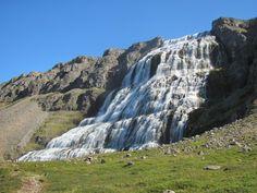 Fjallfoss waterfall in Iceland  #landscape #fjallfoss #waterfall #iceland