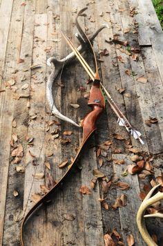 Archery BowVintage Damon Howatt Balboa Left handed by PodunkHollow