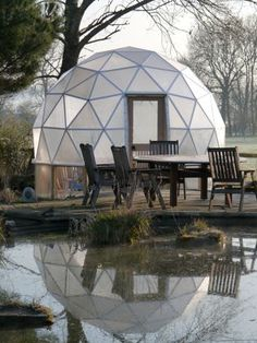 Make your own Geo Dome with this plans