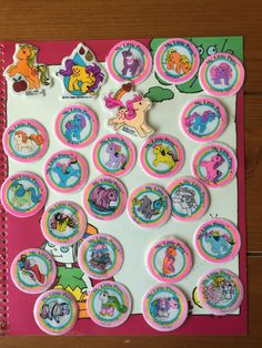 Sold £32.06 My Little Pony G1 1980s puffy stickers ponywear Megan Sundance MLP Vintage in Toys & Games, TV & Film Character Toys, TV Characters | eBay