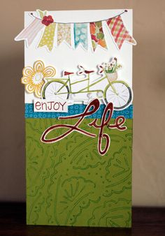 Enjoy Life Doodling Templates Card Page Idea from Creative Memories  http://www.creativememories.com