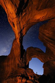 Arches National Park #nothinglikeit #stars #hiking