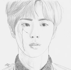 #btsfanart #jin omg this is soo amazing :D ctto