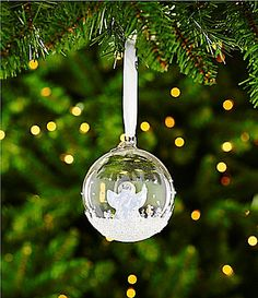 Swarovski Christmas Ball Ornament Annual Edition 2015 #Dillards