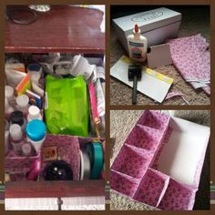 How to make a jewelry organizer from a shoe box via Visit for more
