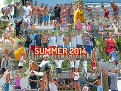 Why not do a yearly family collage. This is a great way to create something great and memorable #UsingLotsOfPictures #@procollage.com Family Picture Collages, Family Collage, Yearly, Family Pictures, Summer 2014, How To Memorize Things, The Past, Digital, Create