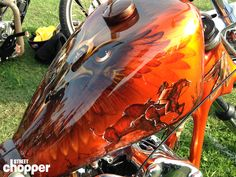 The 20 most interesting gas tanks of Chopperfest | Street Chopper
