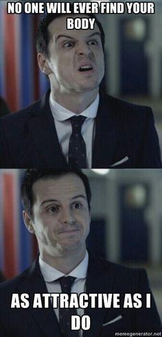 This Misleading Moriarty memes, gotta love Sherlock Sherlock Fandom, Sherlock Holmes, Sherlock Humor, Sherlock Quotes, Mrs Hudson, Avengers, Jim Moriarty, 221b Baker Street, Funny