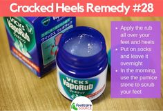WebMD reveals that Vicks VapoRub can be dangerous when too much is applied or if it is applied to broken or injured skin or ingested by mouth. Camphor, the active ingredient in Vicks VapoRub, can. Home Remedies For Ringworm, Natural Remedies, Natural Treatments, Vicks Vaporub, Vicks Vapor Rub Uses, Uses For Vicks, Vapo Rub Uses, Chest Congestion, Health Products