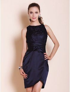 Resultado de imagen para vestidos de noche cortos