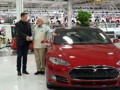 Prime Minister Modi visit Tesla headquarters