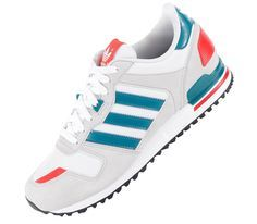 super popular ea5c0 eea6f Adidas Originals ZX 700 Tinta Blanca, Estilo Masculino, Tenis, Botas Para  Homens,