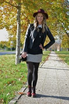 Breakfast at Katy - fashion blog: Outfit of the day: First autumnal look with my Dr.Martens #xmas_present