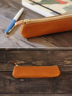 leather pen case | Duram Factory